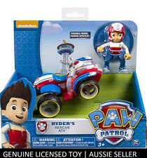 Paw Patrol - Ryder's Rescue ATV and Ryder Figure Ryders Vehicle GENUINE NEW