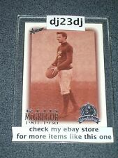 1996 HALL OF FAME PLATINUM CARD ROD MCGREGOR #12