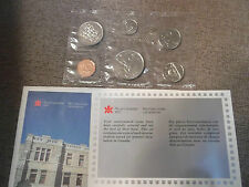 1987 CANADA PROOFLIKE MINT SET AS ISSUED, **** RED CENT *****