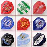 OFFICIAL FOOTBALL DART FLIGHTS - CHOOSE FROM 12 LICENSED F.C CLUBS / Choose Qty