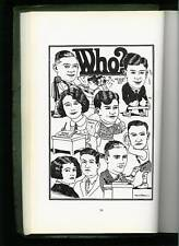 MILTON CANIFF High School Yearbook with His VERY EARLY ARTWORK