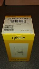 Lutron OS-10P-D-CP-WH Set Of 5 Switches $19.50 7 Sets Available