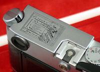 LEICA M6 M-6 Ein Stück Leica Stuck Börse chrom chrome 1 of 10 produced