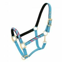 Tough-1 Poly Rope Overlay Neoprene Halter Horse Tack Equine Closeouts