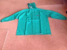 Alpha Solway Chemaster Waterproof Jacket With Hood - Green - XXL - Ref CSJH-EW