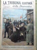 La Tribuna Illustrata 16 Gennaio 1898 Affare Dreyfus Sovrani Ciclismo Esterhazy