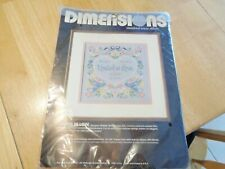 """New Dimensions Counted Cross Stitch Kit; """"United in Love"""""""