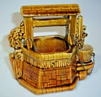 Vintage McCoy Pottery Planter Oh Wishing Well Grant a Wish to Me, Made in USA