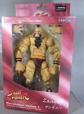 ZANGIEF Street Fighter Video Game Revolution Series #1 SOTA Action Figure CAPCOM