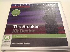The Breaker by Kit Denton Audiobook CD Library Edition Brand New