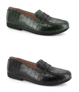 Strive Milan Loafer Slip On Arch Support Comfy Sole Orthotic Work Smart Shoe