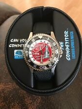 1998 Detroit Red Wings Stanley Cup Champs Men's Sun Time The Competitor Watch