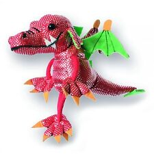 *NEW* PLUSH SOFT TOY Puppet Company 2032 Mini Red Dragon Finger Puppet 10cm