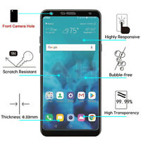 For LG Stylo 4 / Plus Tempered Glass Screen Protector Clear Curved Film Guard 9H