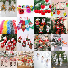 Hanging Christmas Tree Decoration Xmas Felt Decorations Ornament Gift Baubles