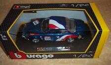 1/24 Burago / Bburago Collezione Renault Alpine A110 1600s Rally (22022)