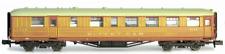 2p-011-304 Dapol N Gauge Gresley Coach LNER Teak Buffet 9121