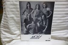 """MOXY PROMOTIONAL PHOTO 8.5 """" BY 11 """""""