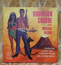 8mm 400' Reel B&W Robinson Crusoe Republic HA-1 Excellent Condition
