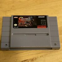 Contra III 3 The Alien Wars Super Nintendo SNES Game Cart Only TESTED/Authentic!