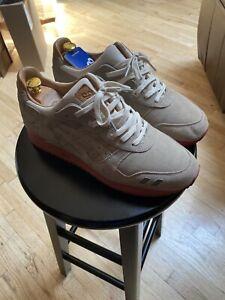 "Asics GLIII GL3 Packer Shoes ""Dirty Buck"" Special Box Gel Lyte 25th Size 10.5"
