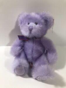 Russ Aphrodite Purple Bear Plush 14 Inches Love On Foot NWT Plush (7)