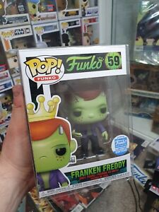 FUNKO POP!: FRANKEN FREDDY FUNKO SHOP EXC #59 INC PROTECTOR