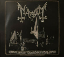 MAYHEM -De Mysteriis Dom Sathanas Alive CD DVD Norwegian Black Metal Live Album
