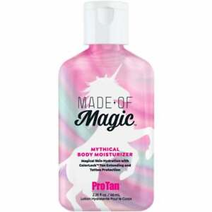 ProTan Made of Magic Body Moisturizer Tanning Extender sunbed lotion Tattoo Care