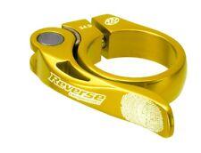 REVERSE lunga vita 34,9 Saddle Clamp | D'oro