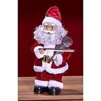 Weihnachtsmann mit Geige, mit Musik und Bewegung