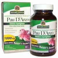 Nature s Answer  Pau D Arco  1000 mg  90 Vegetarian Capsules