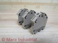 Conta Clip RK16-N1 Terminal Block RK16N1 (Pack of 3) - New No Box