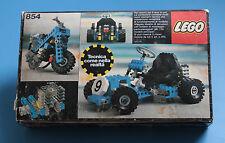 Lego 854  // Technic  // Go-kart // 1978  // COMPLETO CIB