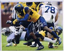 Jeremy Tyler West Virginia Mountaineers Signed 8x10 Photo