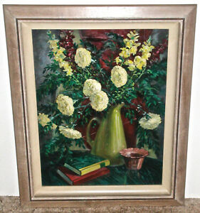 Walter Olin Green Denver Artist Floral