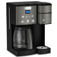 Cuisinart 12 Cup Coffeemaker and Single Serve Brewer - Black (SS-15BKS)