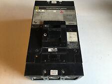 Square D LAL364008041 Circuit Breaker 400 Amp 3 Pole 600 V With Shunt LA11027