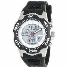 Freestyle Stainless Steel Band Round Wristwatches