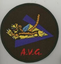 "AVG Flying Tigers 5"" Felt Tiger V P-40 WWII"