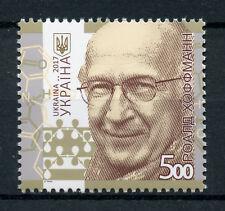 Ukraine 2017 MNH Roald Hoffman Nobel Prize 1v Set Chemistry Science Stamps