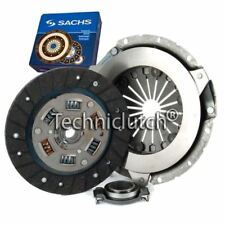 SACHS 3 PART CLUTCH KIT FOR VW GOLF CONVERTIBLE 1.3