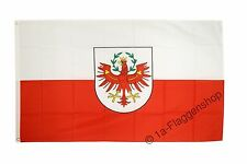 ÖSTERREICH TIROL Hissflagge TIROLER Fahnen Flaggen 90x150cm