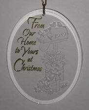 Hallmark Keepsake Ornament From Our Home to Yours at Christmas Mailbox