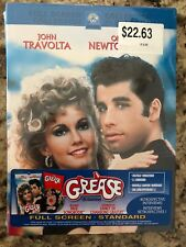 Grease (DVD, 2002, Full Frame) NEW! w/ Songbook! Free Shipping in Canada!