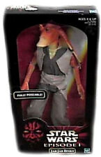 Star Wars 12 Inch Jar Jar Binks Deluxe Boxed Action Figure New 1998 Hasbro