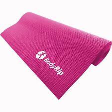 Regolabile rosa spessa schiuma Tappetino Yoga Pilates in palestra 6 mm Palestra Fitness Esercizio Di Formazione