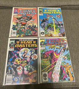 Transformers Headmasters 1 2 3 & 4 (1987) Marvel Comics
