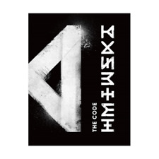 MONSTA X - THE CODE, 5th Mini: DE Ver CD+BOOKLET+PHOTOCARD, FULL PACK, SEALED