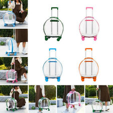 Pet Carrier Outing Backpack Astronaut Trolley Travel Case Dog Cat Transparent